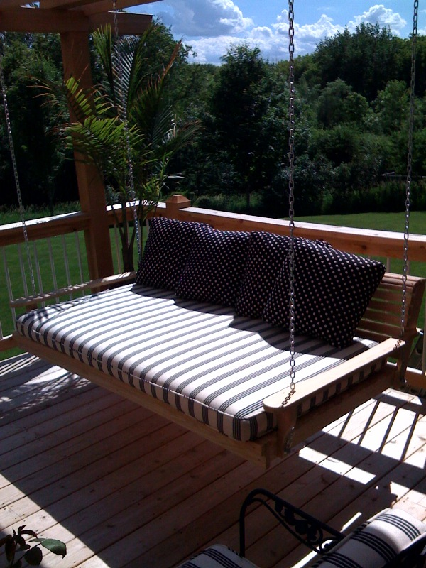 Diy twin bed porch swing plans wooden pdf simple wood for Easy porch swing