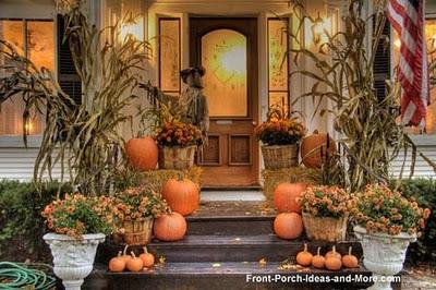 & Autumn Front Porch Decorating! | Cypress Moon Porch Swingsu0027s Blog