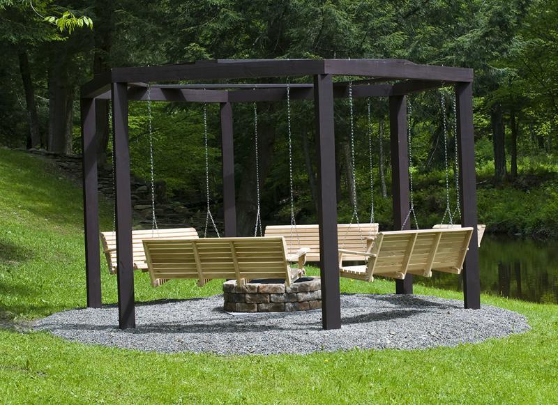 Garden Swing Bench Plans