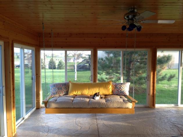 DIY Porch Swing Bed Designs Wooden PDF woodworking kit kids ...