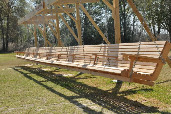 wooden porch swings plans