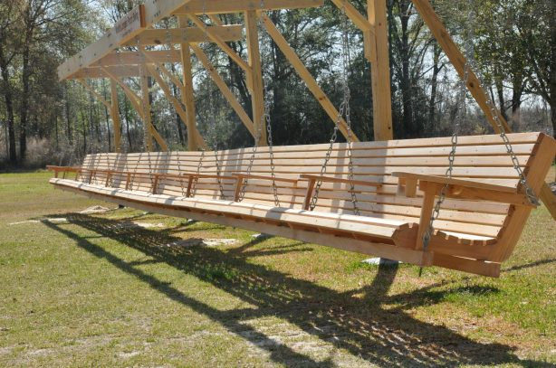 build wood porch swing